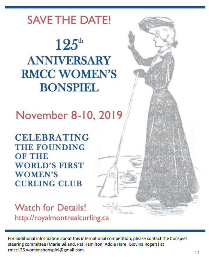 Womens Curling 125th Anniversary